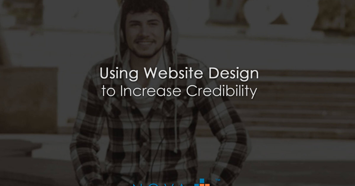 Using Website Design to Increase Credibility