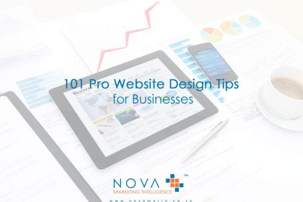 101 Pro Website Design Tips for Businesses