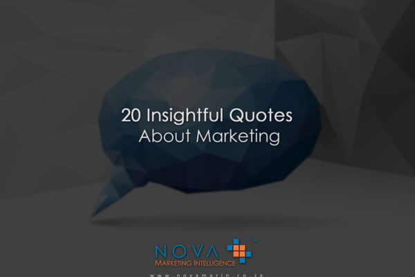 20 Insightful Quotes About Marketing