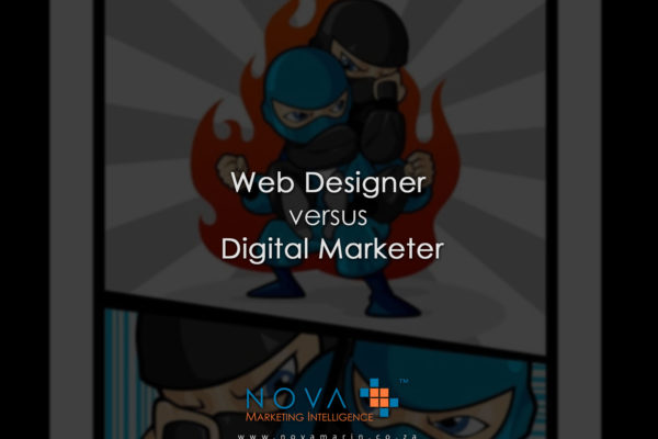 Digital Marketer versus Web Designer