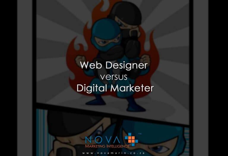 Digital Marketer versus Web Designer