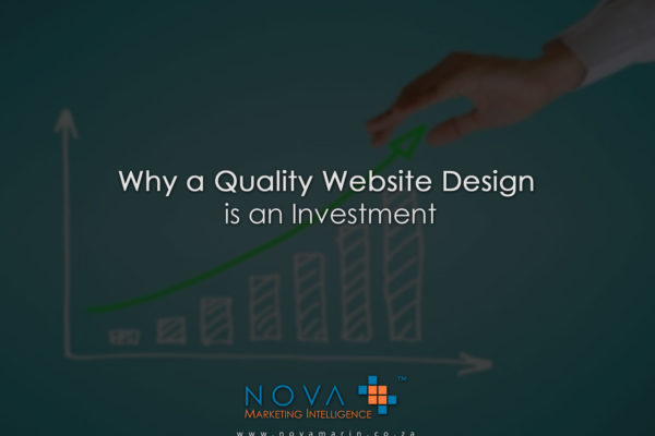Why a Quality Website Design is an Investment