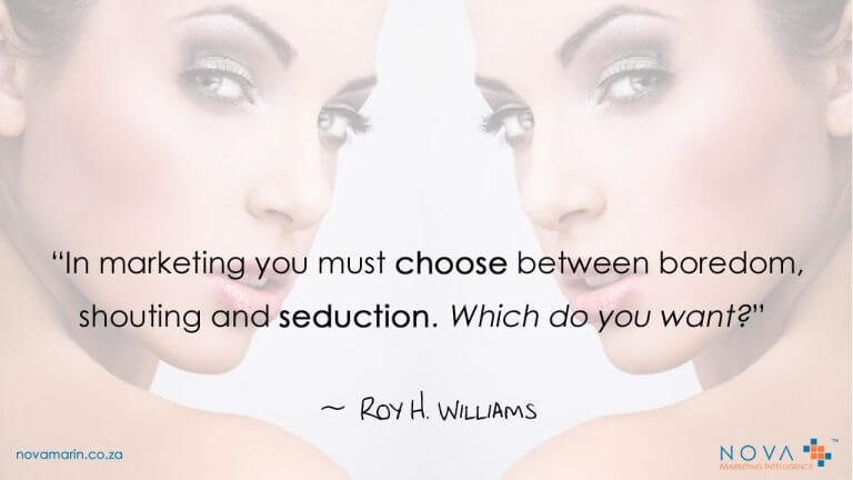 Quotes about Marketing: In marketing you must choose…