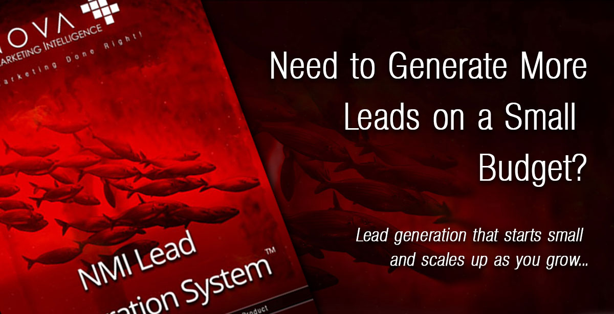Start Generating Leads even with a Small Marketing Budget