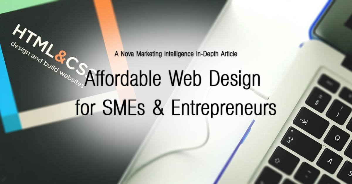 Affordable Web Design for SMEs & Entrepreneurs