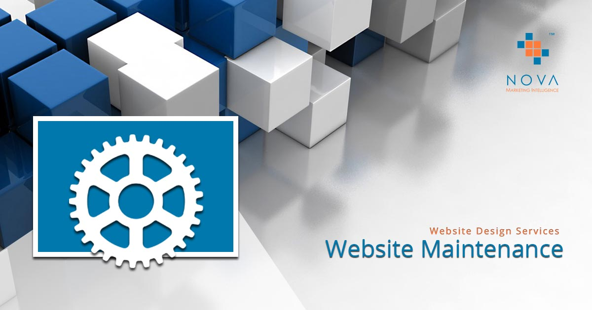 Website Maintenance Service - Nova Marketing Intelligence - Website Design & Marketing Company Johannesburg