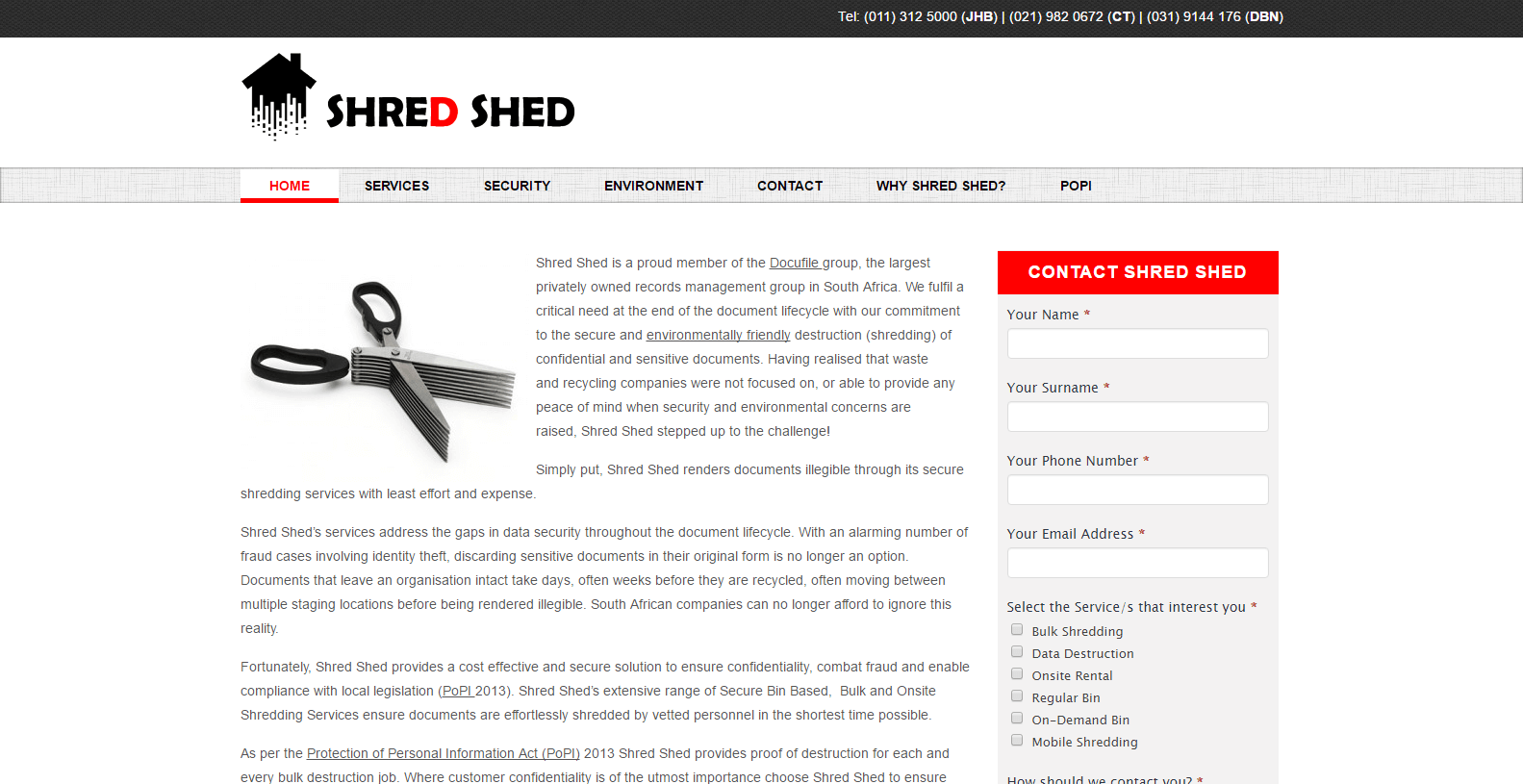 Shred Shed | Nova Marketing Intelligence