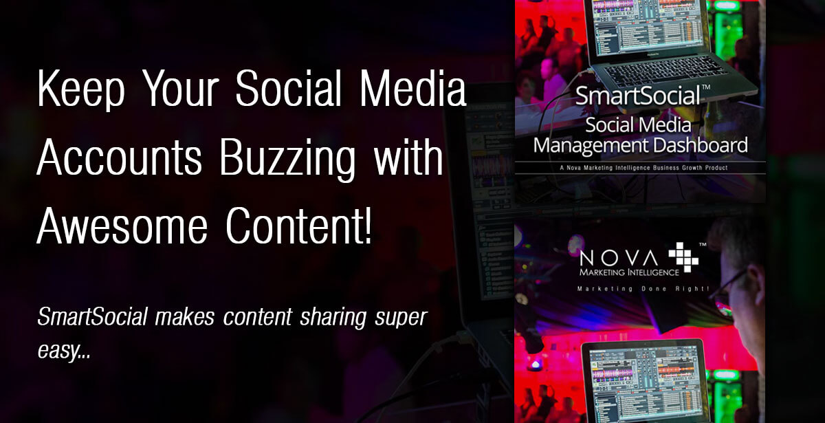 Keep Your Social Media Accounts Buzzing with Awesome Content