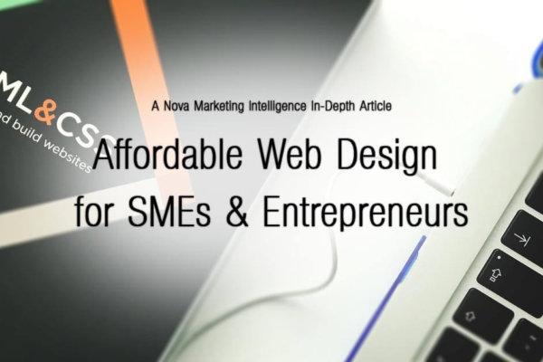 Affordable Web Design for SMEs & Entrepreneurs
